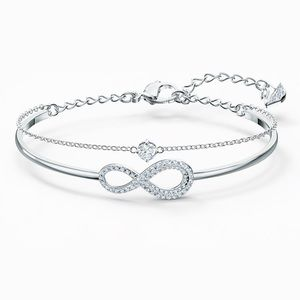 Swarovski Infinity Bracelet